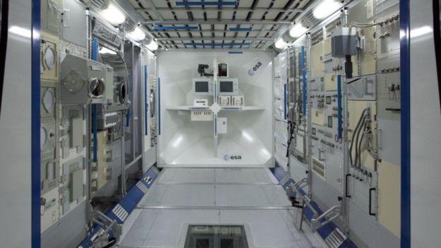 Módulo de treinamento da ISS Columbus