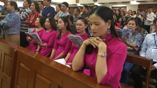 Hàng ngàn người Công giáo Việt Nam đã bay sang Thái Lan mong được gặp Giáo Hoàng