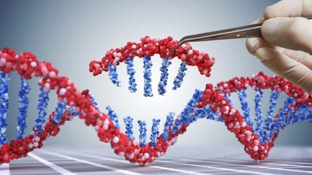 manipulación de ADN (ilustración)