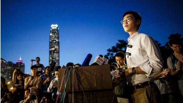 Andy Chan nói áp lực của Trung Quốc chứng tỏ rằng Hong Kong nên độc lập