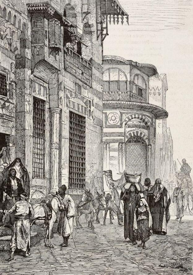 شارع في مدينة القاهرة