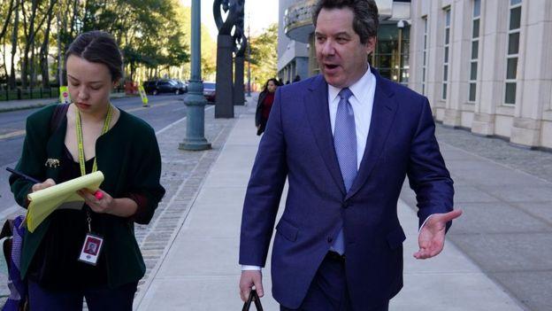 """Jeffrey Lichtman es uno de los abogados de """"El Chapo""""."""