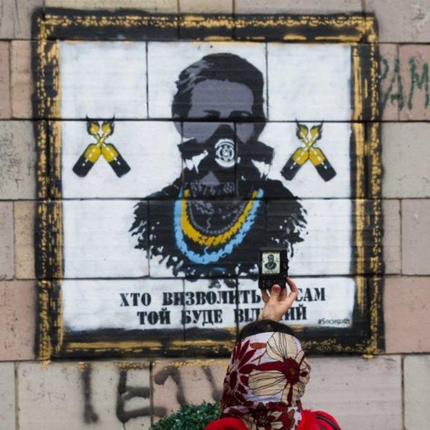 Фреска Леся Українка