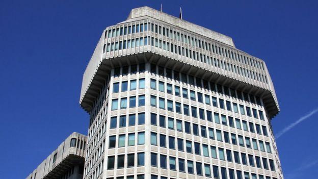 The MOJ headquarters on Petty France