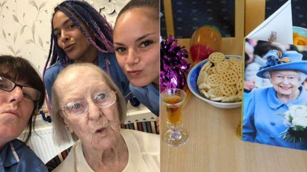 100'üncü yaşını kutlayan Eileen Maher,