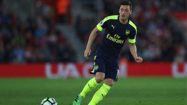 Ozil Na Son Barin Arsenal Hazard Zai Koma Barca Bbc News Hausa