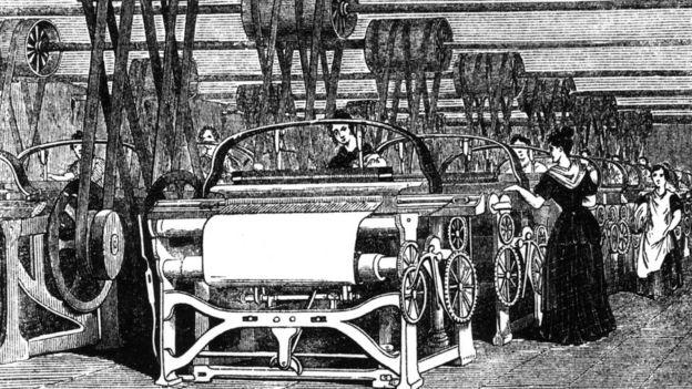 Ilustración Revolución Industrial.