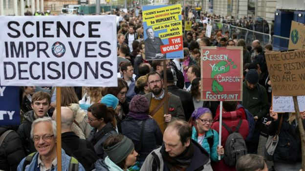 London science march