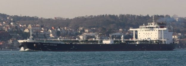"""Танкер """"Бритиш Херитедж"""" способен транспортировывать более миллиона баррелей нефти"""