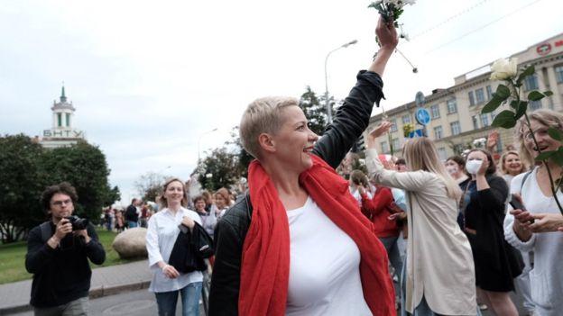Марш посетила Мария Колесникова
