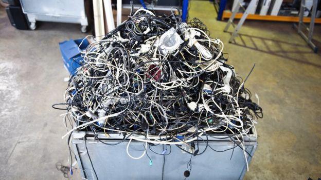Desperdicio electrónico