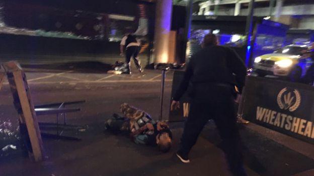 нападение на Лондонском мосту