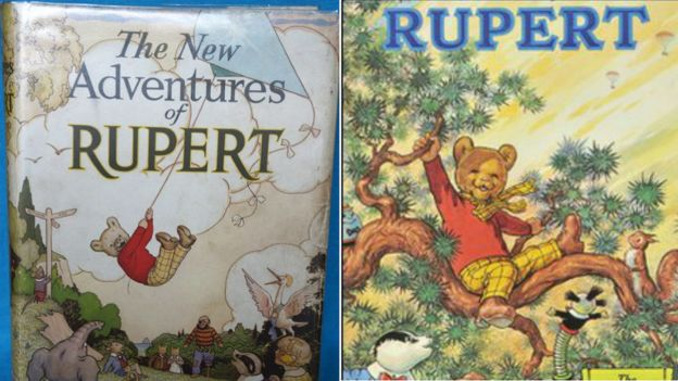 rupert a collection of favourite stories