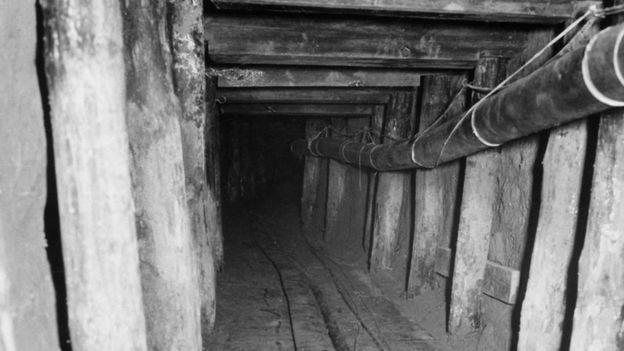 foto do túnel