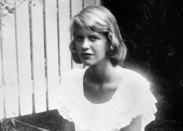 سیلویا پلات، نویسنده و شاعر آمریکایی