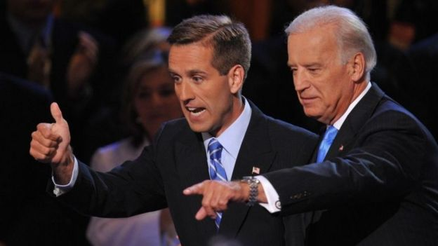 Joe Biden y Beau Biden.