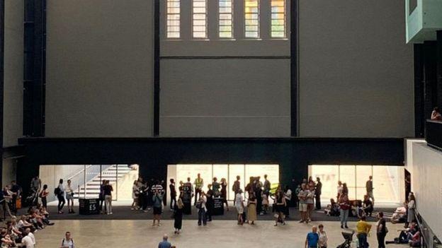 People inside Tate