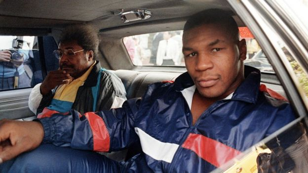Mike Tyson y Don King