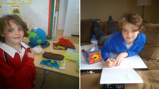 Henry at school and at home
