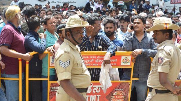 बेंगलुरू में चिटफ़ंड घोटाला