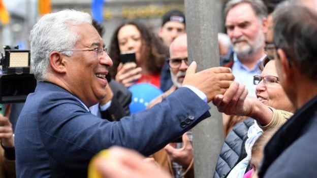 Antonio Costa, primeiro-ministro de Portugal