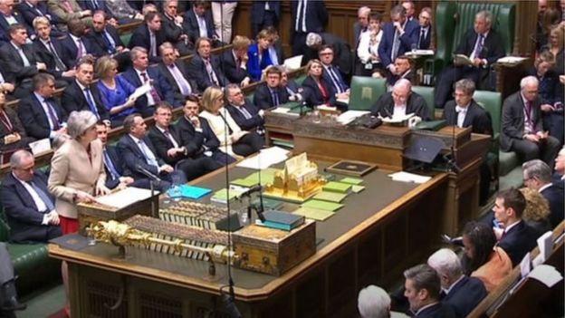 Bà May phát biểu kêu gọi dân biểu Anh thông qua thỏa thuận