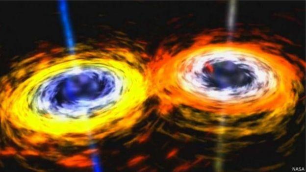Imagem de buraco negro
