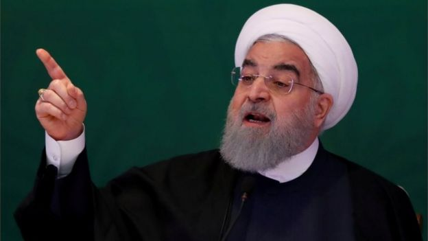Iranian President Hassan Rouhani. File photo