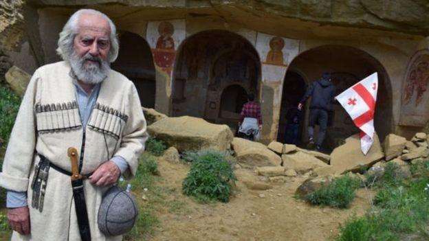 David Qareci Gürcüstan-Azərbaycan sərhədi sərhəd mübahisəsi