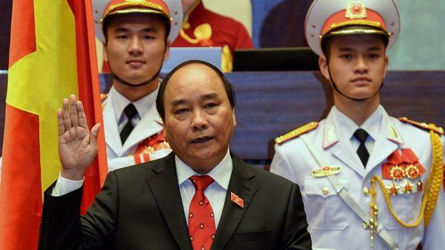 Vietnamese Prime minister Nguyen Xuan Phuc