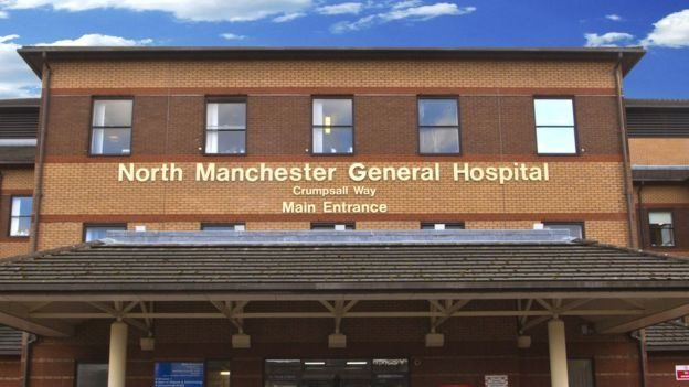General view of North Manchester General Hospital