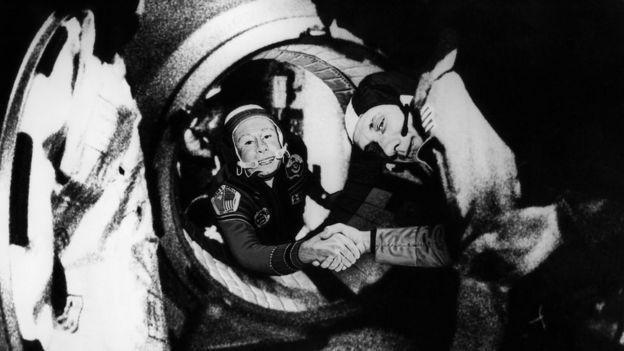 Proyecto Apolo Soyuz.