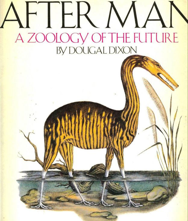 """Capa do livro """"Depois do homem: uma zoologia do futuro"""""""