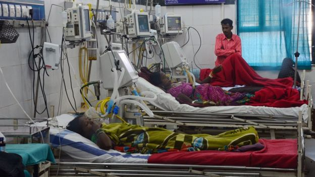 Mujeres en un hospital.