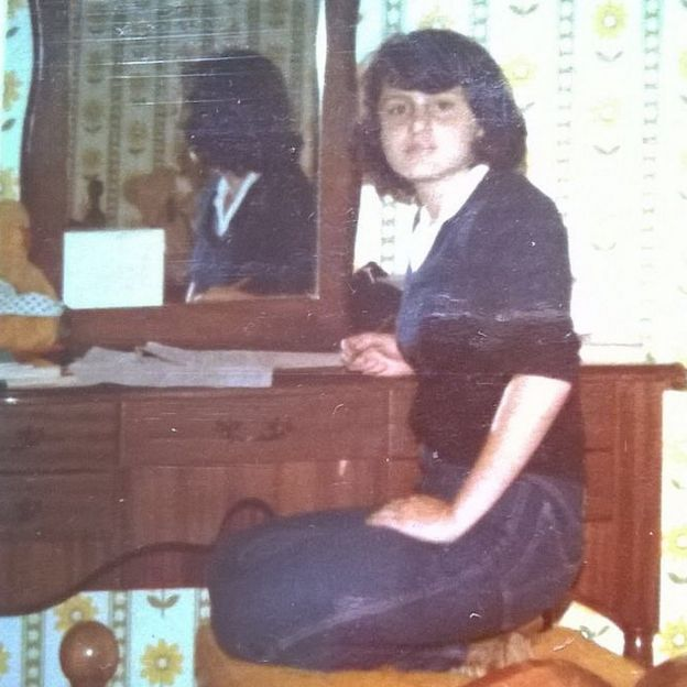 Viviana Gallardo en su casa de Costa Rica.