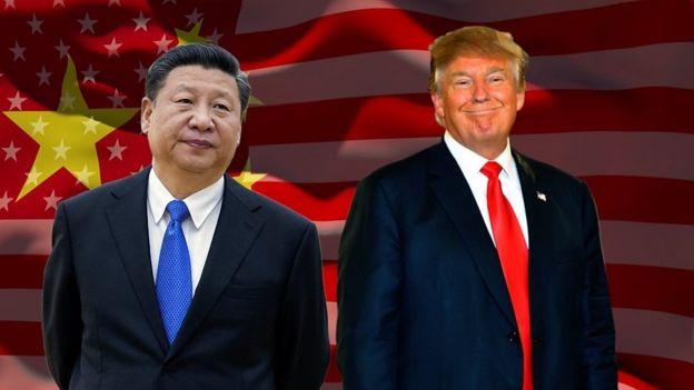 Rais Xi-Jinping wa China na mwenzake Donald Trump wa Marekani