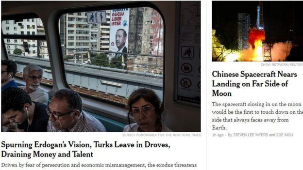 New York Times haberi