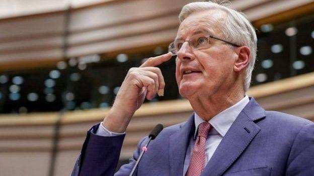 Ông Michel Barnier