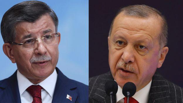 Cumhurbaşkanı Erdoğan ve Ahmet Davutoğlu