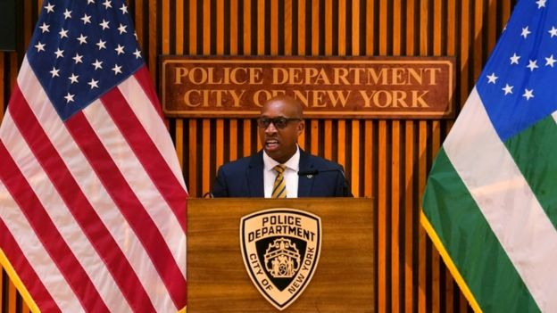 New York Police Chief of Detectives Rodney Harrison