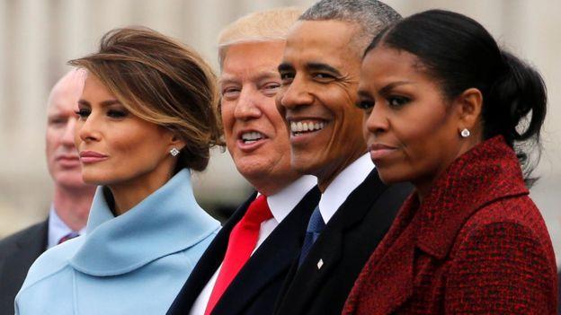 Los Trump y los Obama