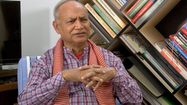 'বিএনপি সময় অসময়' গ্রন্থের লেখক এবং বিশ্লেষক মহিউদ্দিন আহমদ