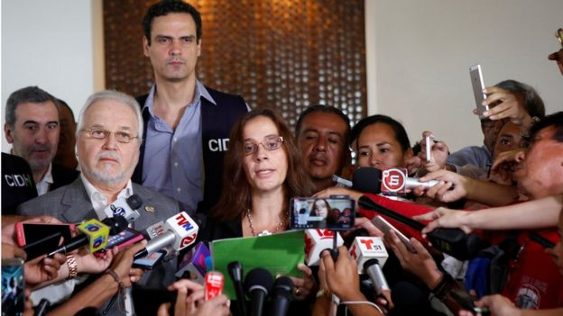 Conferencia de prensa de la CIDH