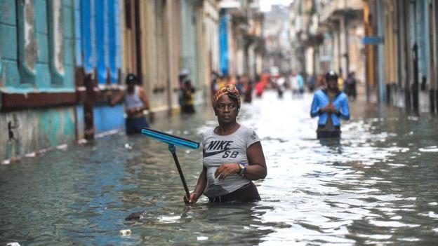 Havana Cuba flooding