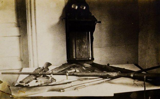 Зброя, вилучена в повстанців с. Корюківка Чернігівської обл., 1931 р. Галузевий державний архів СБУ, ф.5, спр.67514, т.1