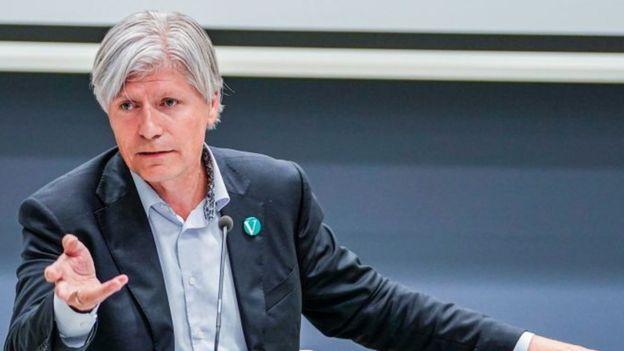 Ola Elvestuen, ministro de Medio Ambiente de Noruega.