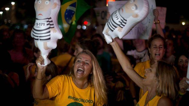 Protesta contra Lula