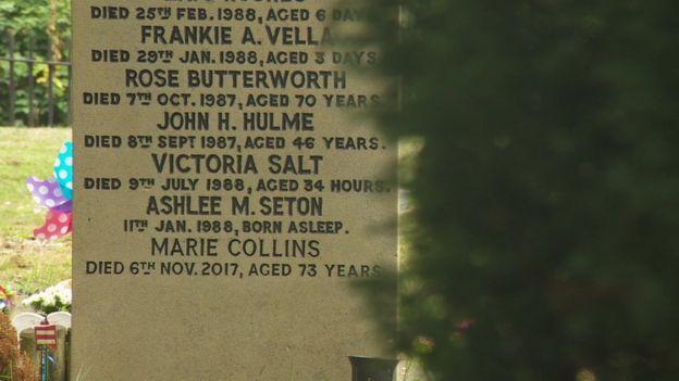 Victoria's gravestone