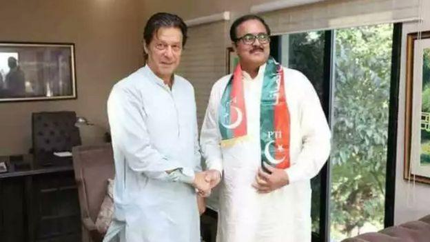 عمران خان فاروق بندیال