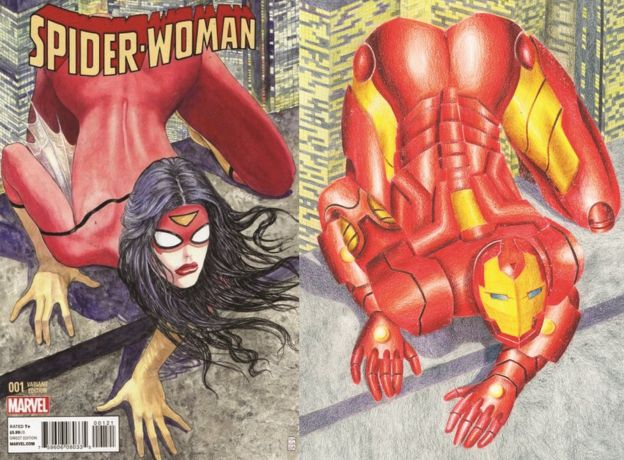 100 Women: The artist redrawing 'sexist' comic book covers